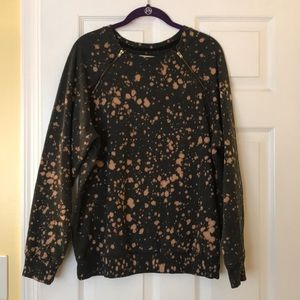 Silence and Noise Acid wash Sweater